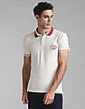 GAP Heathered Pique Polo Shirt