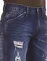 Flying Machine Prince Slim Fit Distressed Jeans
