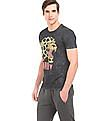 Ed Hardy Printed Cotton T-Shirt