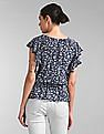 GAP Printed Smocked Top