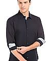 Arvind French Placket Linen Cotton Shirt