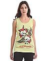 EdHardy Women Rib Knit Tank Top