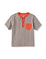 The Children's Place Toddler Boy Short Sleeve Henley