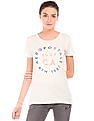 Aeropostale Printed Regular Fit Cotton T-Shirt