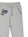 Colt Grey Boys Captain America Applique Knit Joggers
