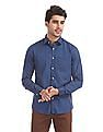 Excalibur Slim Fit Solid Shirt