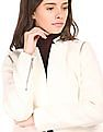 Elle Zip Detailed Long Sleeve Jacket