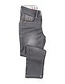 U.S. Polo Assn. Kids Boys Stone Wash Whiskered Jeans
