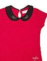 U.S. Polo Assn. Kids Girls Peter Pan Collar Printed Top