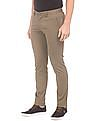 U.S. Polo Assn. Trim Fit Solid Trousers