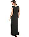 Bronz Layered Monochrome Maxi Dress