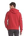 U.S. Polo Assn. Red Hooded Zip Up Sweatshirt
