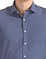 Excalibur Chest Pocket Solid Shirt