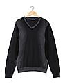 Arrow Newyork Long Sleeves V-Neck Sweater