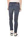 Flying Machine Women Lightly Distressed Skinny Fit Cropped Jeans